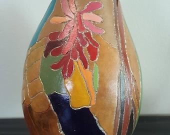 Fine Art on a Gourd