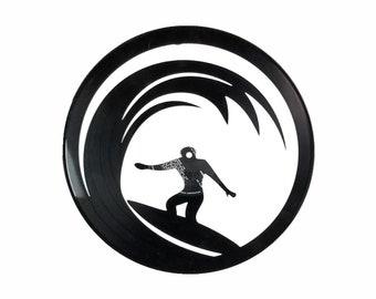 Surfer Vinyl Record Art