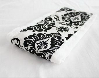 Damask Baby Burp Cloth