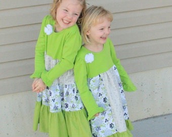 Easter - Matching Dresses - Custom Outfits - Add Hairbows - Coordinating Photo Shoot - Pick Your Fabric - Sisters - More Options Available