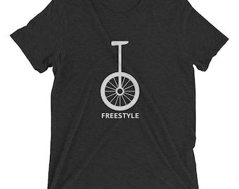 Vintage T-shirt: Unicycle Freestyle