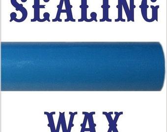 Process Blue flexible sealing wax sticks, melt them with a glue gun - 10 sticks - SPECIAL