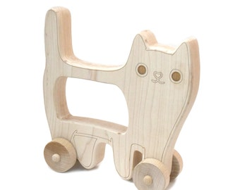 Cat Toys - Baby Shower - Baby Shower Gift - Cat Toy - Montessori Toys - Wooden Toys