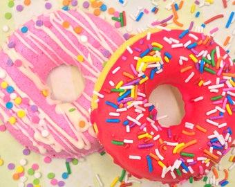 Donut Bath Bomb | Bath Bombs | Best Friend Gift | Housewarming Gift | Graduation Gift | Birthday Gift | Bridesmaid Gift | Donut | Doughnut