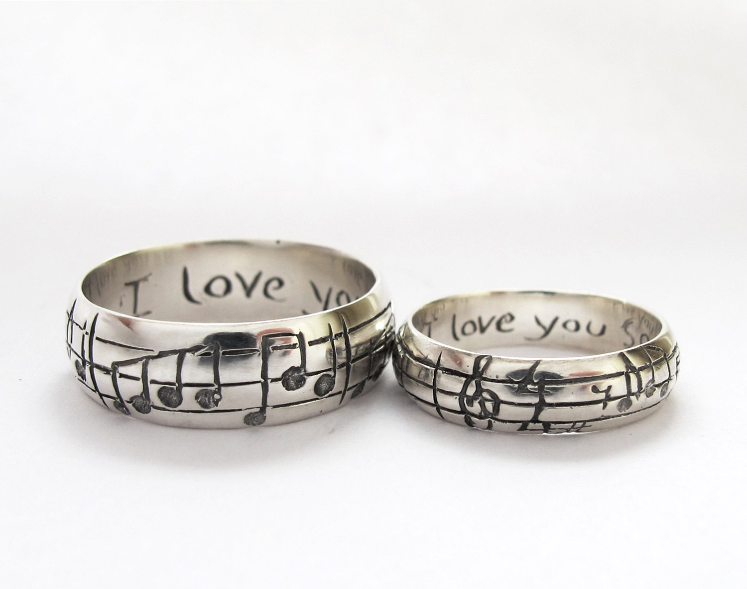zoom - Personalized Wedding Rings