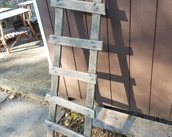 Handmade Rustic Primitive Ladder