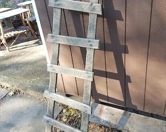 Handmade Rustic Primitive Ladder