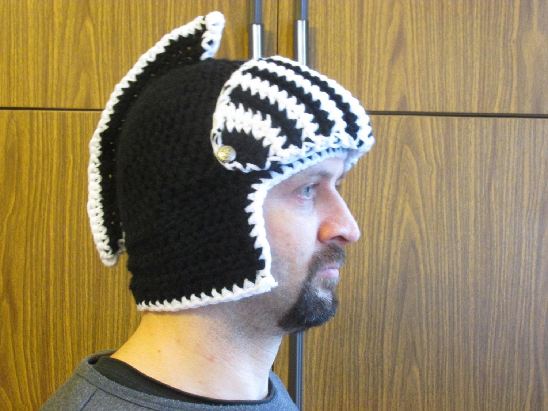 crochet helmet, helmet pattern, fantasy hat pattern, knight helmet ...