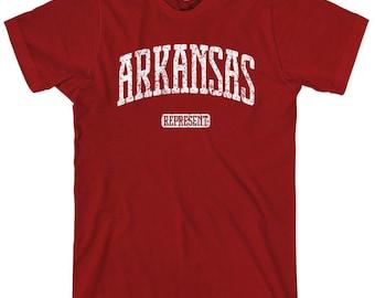Arkansas Represent T-shirt - Men and Unisex - XS S M L XL 2x 3x 4x - 4 Colors