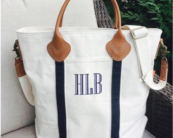 Monogrammed Flight Bag