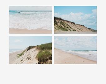 nautical photo set of 4 prints cape cod wall art ocean photo collection seashore summer photography beach house decor beach pictures