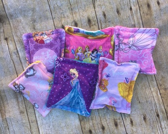 Weighted Bean Bags/Sensory/ADHD/Autism/Games/Tossing/Sensory Input/Tactile/Princess/Superheroes/Toddler/Preschool/Counting/Colors/Feel