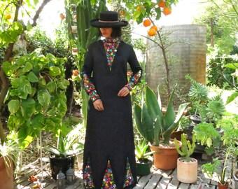 Vintage Mexican Tlaquepaque Georgia Dress