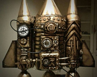 Time Traveling Jetpack - Steampunk Costume -
