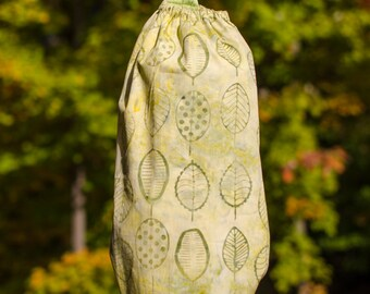 Plastic Bag Holder keeper Leaves Green Nature