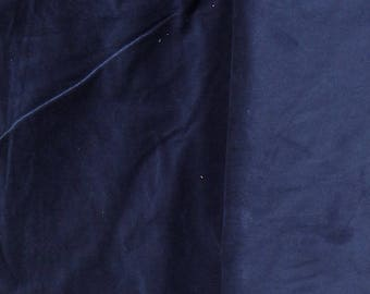 Navy Corduroy Fabric  2 yard piece
