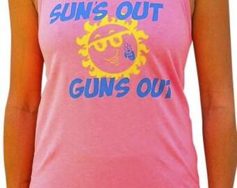 SoRock Shop's Suns Out Guns Out Women's Tank