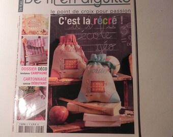 YARN needle magazine / cross-stitch No. 57