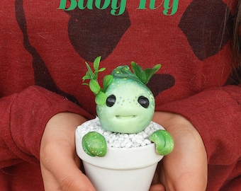 Plant Baby, Scented Ceramic succulent planter, Ceramic planter, Succulent, Ceramics & pottery, Flower plant pot, Decoration, handmade, gift