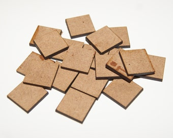 15mm Square Shapes For Craft/Scrap-booking/Decoration