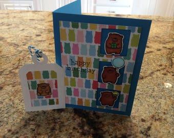 Birthday Card - Tiny Bears