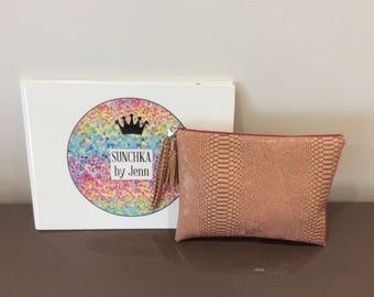 Old sunchka pouch pink