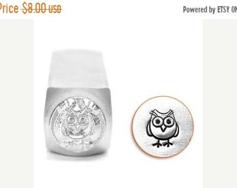 ON SALE Impress Art 6mm Hootie Owl Metal Stamp (SC1513-I-6Mm)