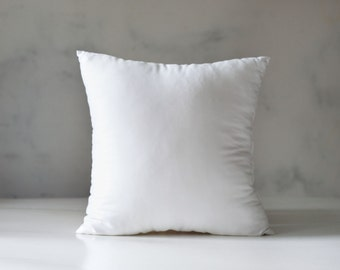 Throw pillow insert, custom size 14x14 16x16 18x18 inch, available only with Pillowlink pillows   0126