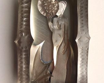 Altar Box, Esme, Saint of Welcome Shade