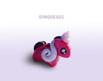 8 mm - Unicorn dreadbead - Dinobeads