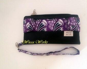 Custom Della Wallet, 2 Zipper Wallet, Wallet Wristlet, Tab Wallet, Snap Wallet, Money Holder, Checkbook Wallet,