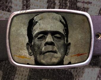 Frankenstein Belt Buckle 714, Gift for Him, Gift for Her, Husband  Gift, Wife  Gift Groomsmen Wedding