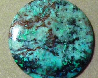 Chrysocolla Gem Stone Cabochon (A-089)