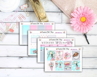 April Showers Planner Sticker Kit