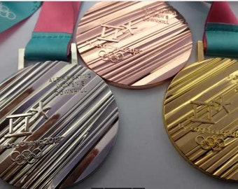 2018 S.Korea PyeongChang Winter Olympic Set (Gold/Silver/Bronze) !!!