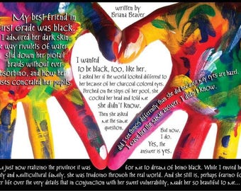 """Original Word Art """"Heart In Hand"""""""