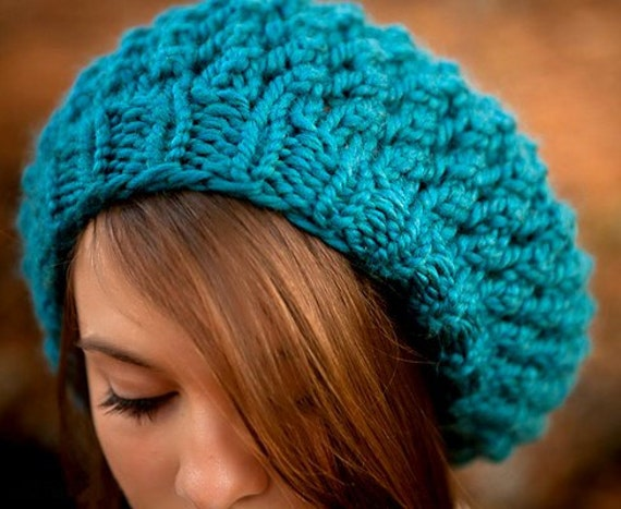 Instant Download Knitting Pattern - Knit Hat Pattern for Odessa ...