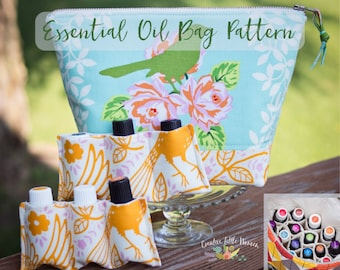 Essential Oil Storage PATTERN, Essential Oil Case, Storage for up to 22 Bottles, PDF Pattern, *Permission to Sell Finished Item