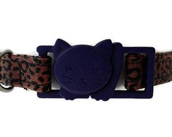 Cat collar, cat furniture, safety breakaway, 3/8'' width, adjustable collar, cat lover gift, cat leash, cat harness, cat mum gift, cat tree