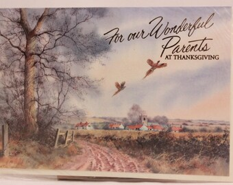 Lawson Falle Limited Greeting Card. One Card and Envelope. Thanksgiving