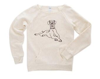 Gentle Giant ... Great Dane Sweatshirt - Great Dane Sweater - Great Dane Shirt - Dog Sweater - Dog Tshirt - Animal Sweater