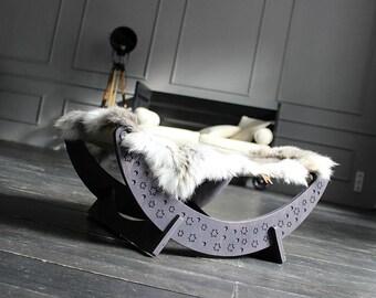 Cat furniture - Cat hammock – New Moon Cat Bed (Or. edit.) Kitty hammock, kitten hammock, luxury cat bed, modern cat bed, designer cat bed