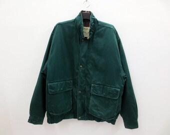 Eddie Bauer Jacket Men Size L Vintage Eddie Bauer Down Jacket Eddie Bauer Hunting Jacket Plaid Lining