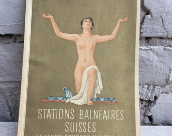 Spas in Switzerland - gorgeous vintage guide