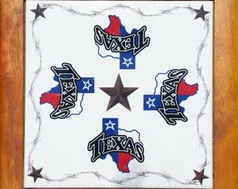 Texas Lone Star trivet