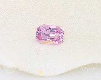 Radiant Cut Pink Sapphire Emerald Cut Wholesale September Birthstone