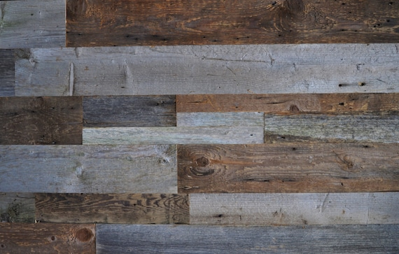 Reclaimed wood accent wall do it yourself diy authentic reclaimed wood accent wall do it yourself diy authentic reclaimed wood mixed width grey and brown natural 20 square feet free shipping solutioingenieria Images