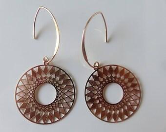 """Gold gilt """"Orphéa"""" earrings"""