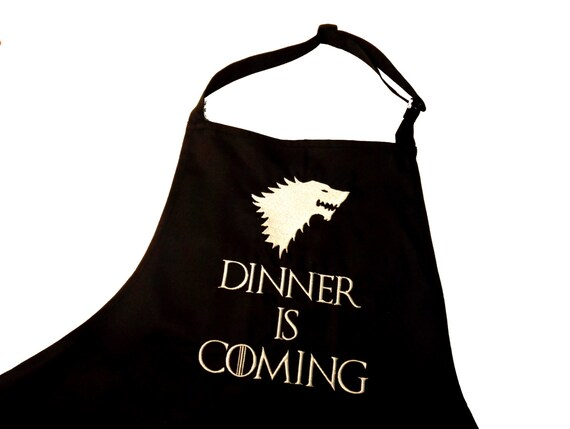 Embroiderd Kitchen Apron Game Of Thrones Inspired House Of