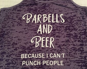 Barbells and Beer Tank